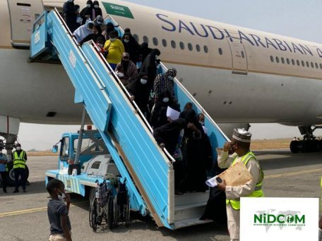 425 Stranded Nigerians Arrive From Saudi Arabia