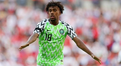 Alexander Iwobi Cleared For Lesotho Clash After COVID Scare