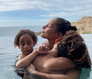 Proud Mom Alicia Keys Shares Poolside Snap With Her Kids