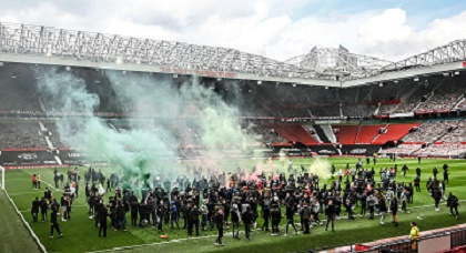 Manchester United Vs Liverpool Called Off Over Protest