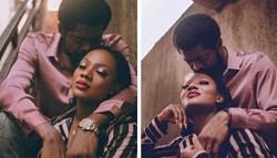 Basketmouth And Wife Stun In Latest Photoshoot