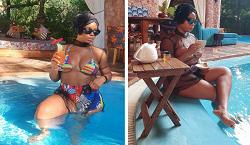 Singer Yemi Alade Shares Sizzling Poolside Photos